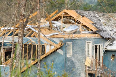 Wind Damage - Hurricane - Insurance Claim